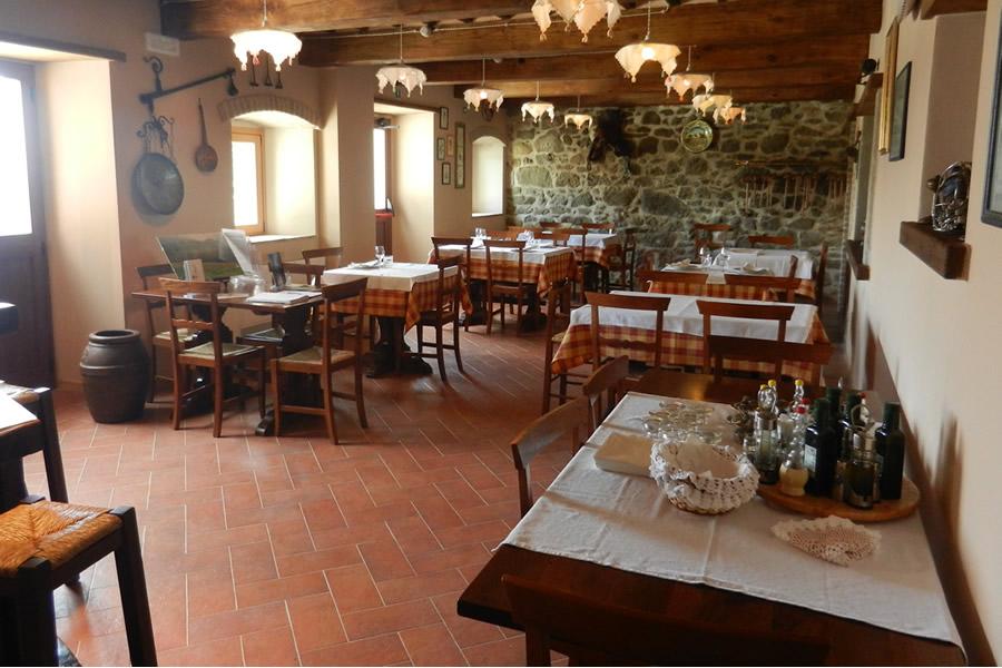 Interni ristorante Toscana